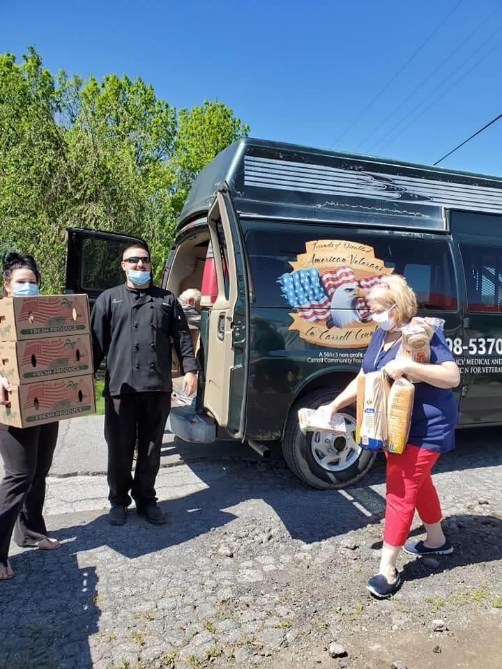 veteran-food-drive-Babylon-Vault-Company-carroll-county-md