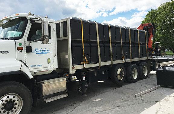 Babylon Vault Company Truck