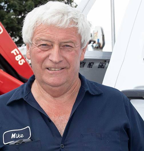 Mike Martin, Head Mechanic